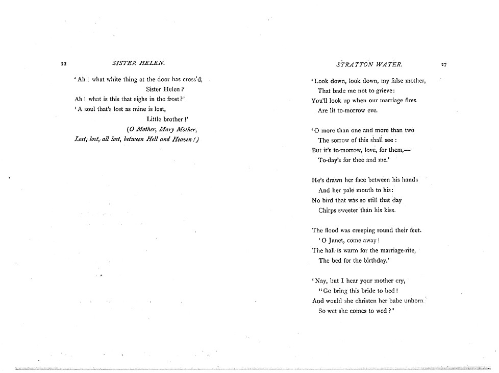 Poems  A New Edition (1881), proof Signature C (Delaware Museum