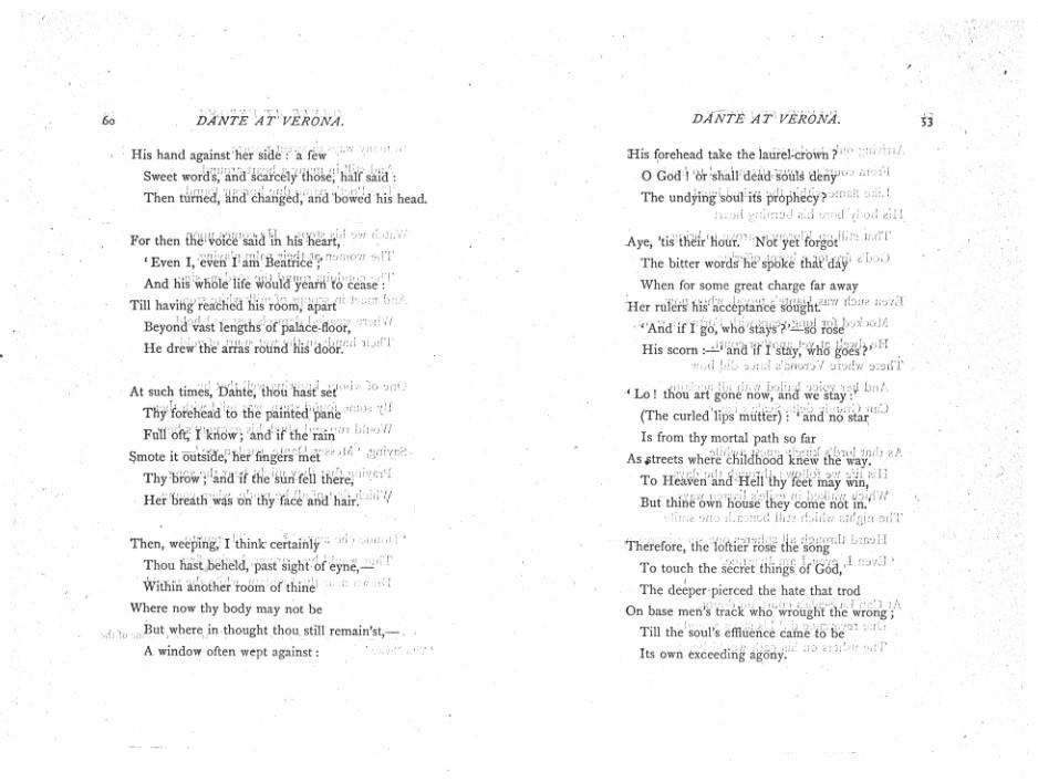 Poems  A New Edition (1881), proof Signature E (Delaware
