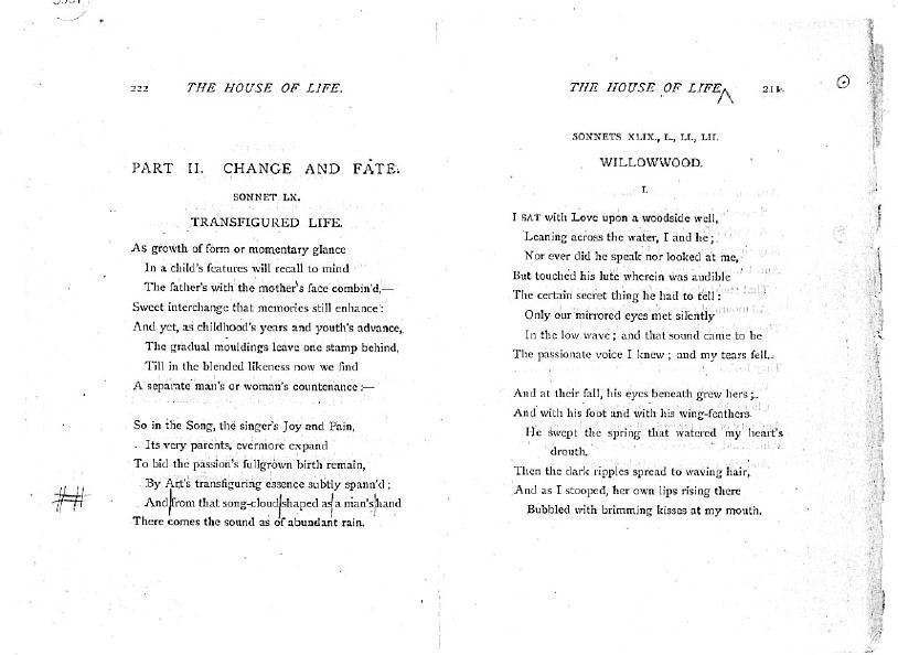 Ballads and Sonnets (1881), proof Signature P (Delaware Museum, 9