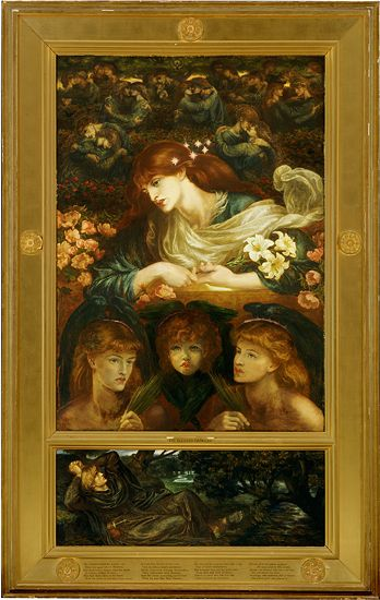 the blessed damozel Colin bell reading the blessed damozel by dante gabriel rossetti.