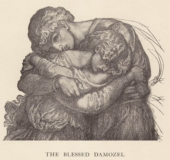blessed demozel as alove poem Dante gabriel rossetti was only 18 when he wrote the blessed damozel in 1847 the poem the blessed damozel is one of rossetti's most famous poems.