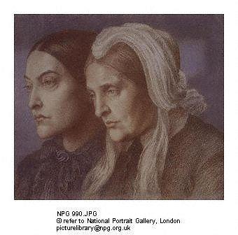 Christina Rossetti and Mrs. Gabriele Rossetti