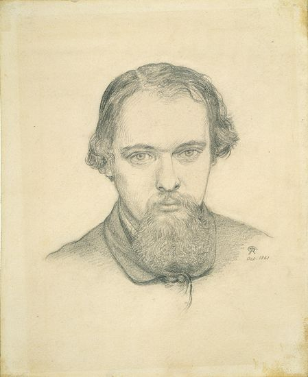 Commentary for Dante Gabriel Rossetti