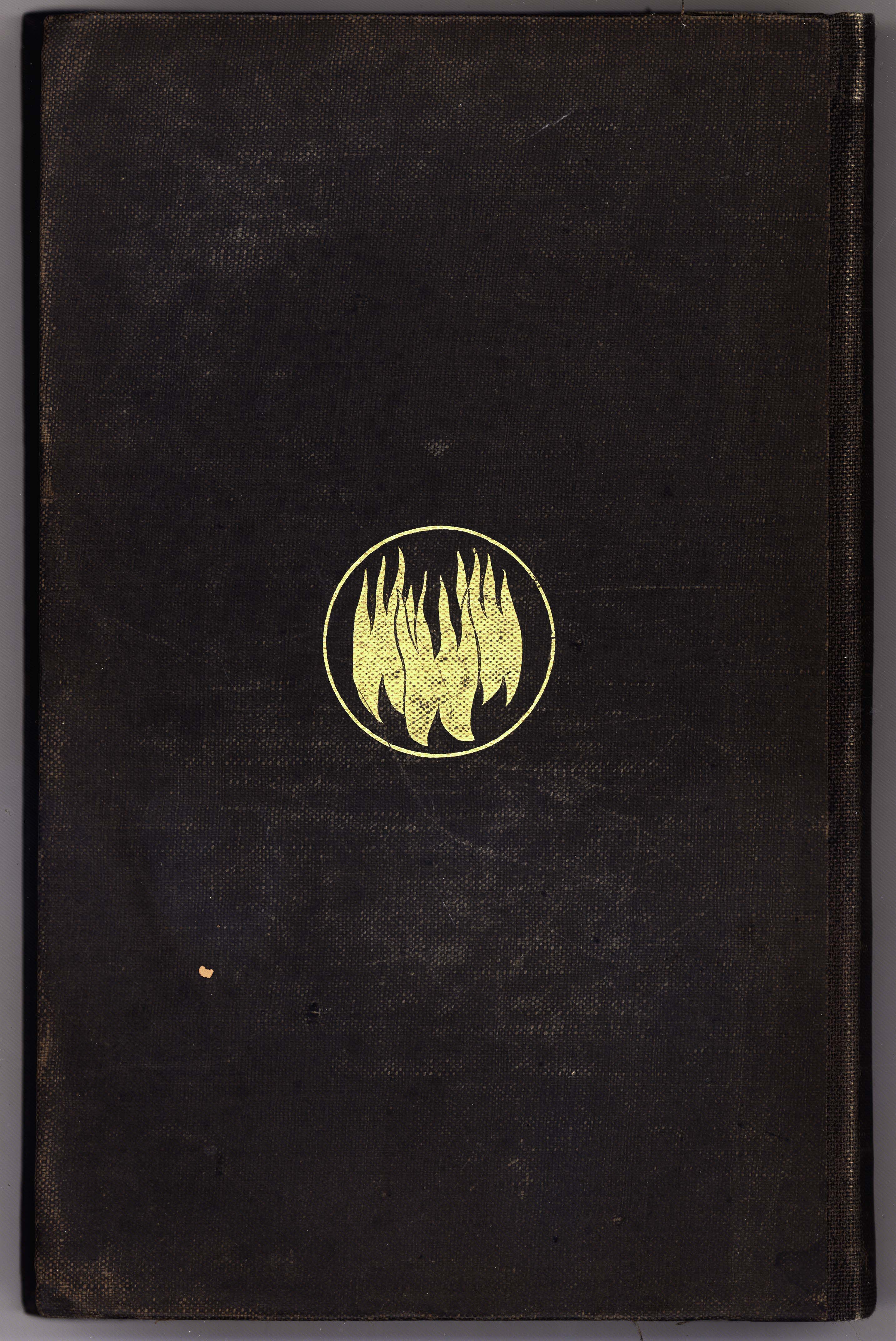 The Comedy of Dante Alighieri: Binding Design (1865)