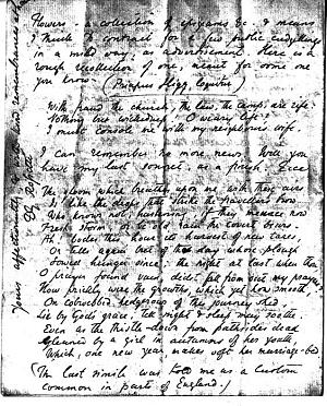 Facsimile images available for Letter to William Bell Scott, February 13, 1855
