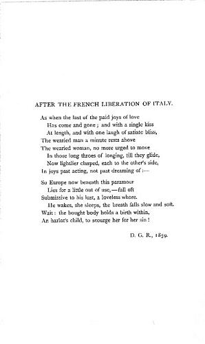 Facsimile images available for After the French Liberation of Italy (Arizona State University Library proof