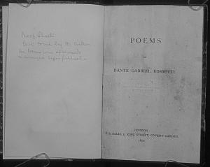 Facsimile images available for Poems (1870): Proofs for first edition
