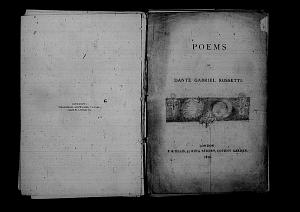 Poems (1870), Design for the Title Page