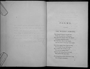 Facsimile images available for Poems. (Privately Printed.): A Proof, Lasner Copy
