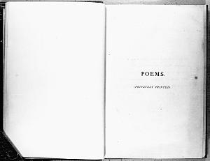 Facsimile images available for Poems. (Privately Printed).: First Trial Book (Fitzwilliam Museum copy)