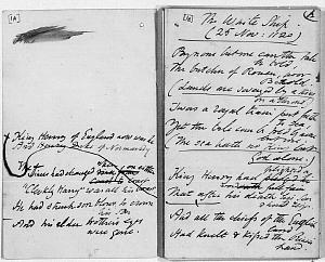 Facsimile images available for The White Ship (Henry I. of England.—25 November 1120): Duke                    University Library draft manuscript)