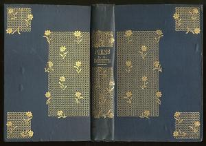 Binding Design: Poems. A New Edition (1881) [1]
