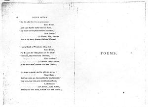 Facsimile images available for Poems. A New Edition (1881), proof Signature B (Delaware Museum, complete                    final proof)