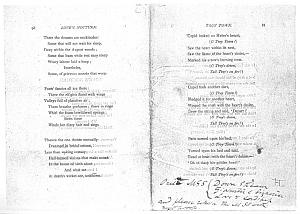 Facsimile images available for Poems. A New Edition (1881), proof Signature G (Delaware Museum, first