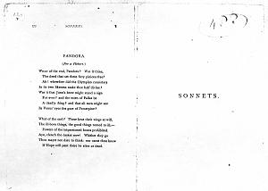 Facsimile images available for Poems. A New Edition (1881), proof Signature S (Delaware Museum, author's