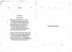 Facsimile images available for Poems. A New Edition (1881), proof Signature S (Delaware Museum, author's                    first proof (duplicate copy))