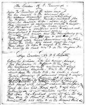Facsimile images available for Letter to Christina Rossetti, 8 November 1853