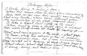 Facsimile images available for Mid-Rapture (fair copy, Boston Public Library Manuscript)