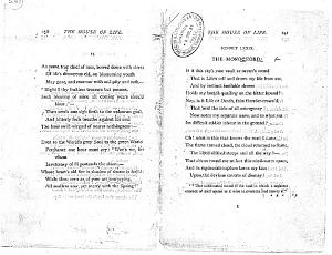Facsimile images available for Ballads and Sonnets (1881), proof Signature R (Delaware Museum, first                    author's proof)