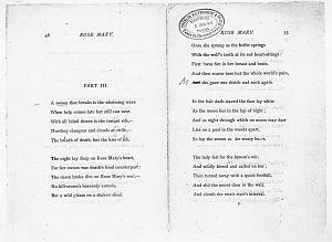 Facsimile images available for Ballads and Sonnets (1881), proof Signature D (Delaware Museum first author's proof, copy 1)