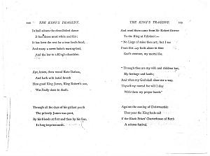 Facsimile images available for Ballads and Sonnets (1881), proof Signature H (Delaware Museum, second revise)