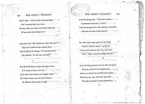 Facsimile images available for Ballads and Sonnets (1881), proof Signature K (Delaware Museum, final proof)