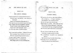 Facsimile images available for Ballads and Sonnets (1881), proof Signature P (Delaware Museum, 6 May proof,                    copy 1)