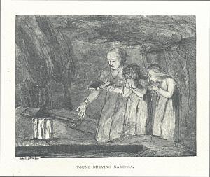 Young Burying Narcissa