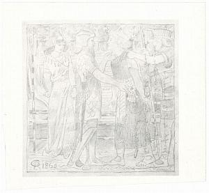 Study for Joseph Accused Before Potiphar