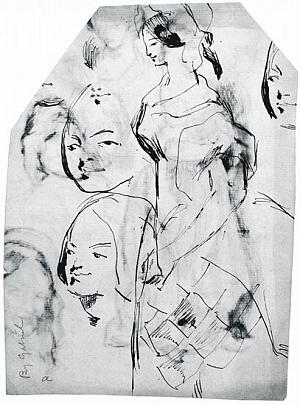 Study for Plate 36