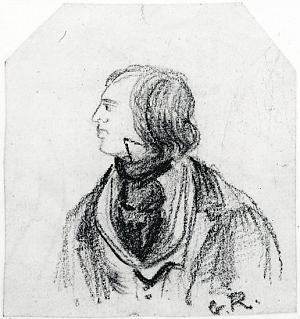 Man wearing a cravat