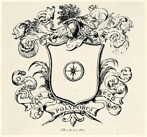 Coat of arms of the Polidori family