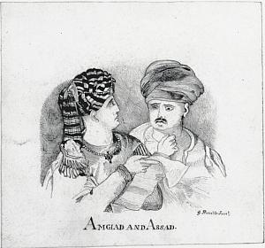 Illustrations for the Arabian Nights