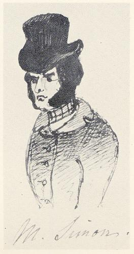 M. Simons (from Characters from Catherine Crowe's Susan Hopley)