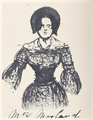 Mrs. Morland (from Characters from Catherine Crowe's Susan Hopley)