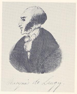 Marquis de Langy (from Characters from Catherine Crowe's Susan Hopley)