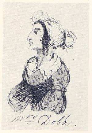 Mrs. Dobbs (from Characters from Catherine Crowe's Susan Hopley)