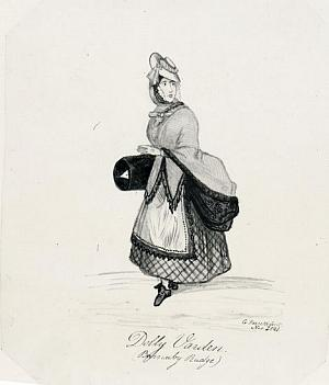 Characters from Dickens' Barnaby Rudge