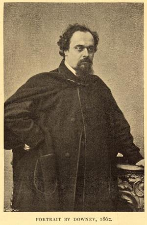 Dante Gabriel Rossetti in 1862