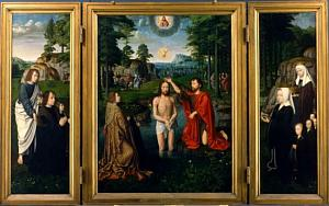 Altarpiece of the Baptism of Christ