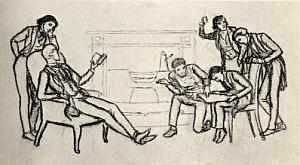 The Pre-Raphaelite Meeting