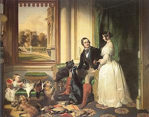Windsor Castle in Modern Times: Queen Victoria, Prince Albert and Victoria, Princess     Royal