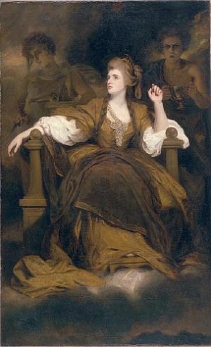 Sarah Siddons as the Tragic Muse