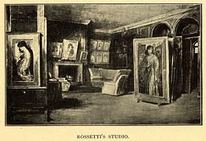 Rossetti's Studio