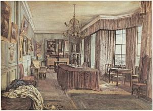 Drawing Room, No. 16, Cheyne Walk