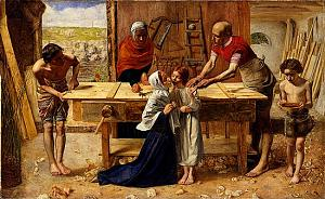 Christ in the House of His Parents [Christ in the Carpenter's Shop]