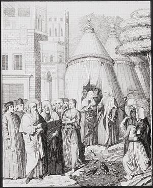 Partenza di Agar da Abramo (detail)