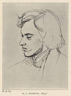 D. G. Rossetti, 1853