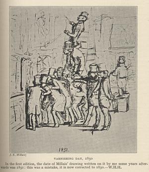 Varnishing Day, 1850