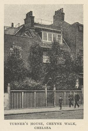 Turner's House, Cheyne Walk, Chelsea